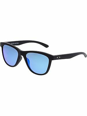 Oakley Women's Moonlighter OO9320-11 Black Oval Sunglasses