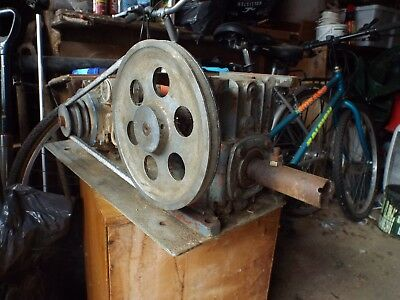 Holroyd / Renold REDUCTION GEARBOX