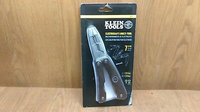 KLEIN TOOLS Electricians Multi Tool Pliers Knife Balde Screwdriver Wire Cutter