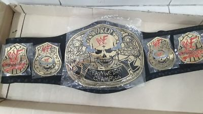 WWE WWF  Heavyweight Championship Belt Leather Belt limited offer 20% off