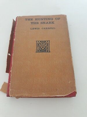 1913 The Hunting Of The Snark By Lewis Carroll Illustrated By Henry Holiday