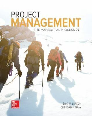 Project Management: The Managerial Process (Mcgraw-hill Series Operations and De