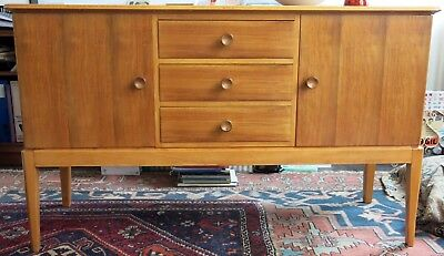 Vintage Walnut Sideboard By Gordon Russell of Broadway