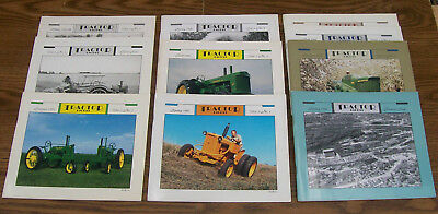 Rare TRACTOR DIGEST John Deere MAGAZINE Complete Set 10 1994-96 TWO CYLINDER NM