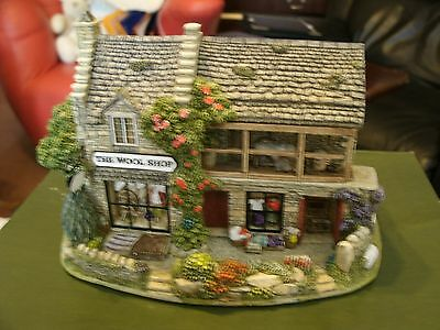 Lilliput Lane , Knit One Purl One,wool Shop, Boxed & Deeds