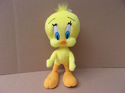Tweety Bird Looney Tunes Warner Bros. Bendable Yellow Plush Toy Stuffed Animal