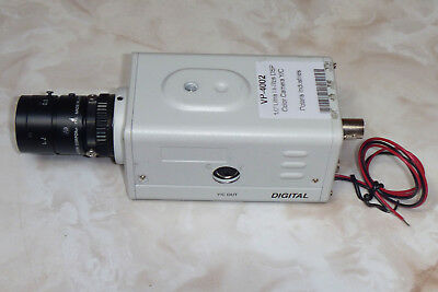 "Polaris Vp-4002 ½"" Ultra Hi-Res Dsp Color Camera Y/c, Ntsc, W/cables, 25Mm Lens"