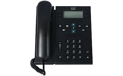CISCO - CP-6941-C-K9 - Unified IP Phone 6941, Charcoal, Standard Handset