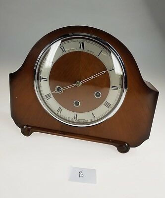 British Made Westminster Chimes Mantle Clock Movement Smiths (B)