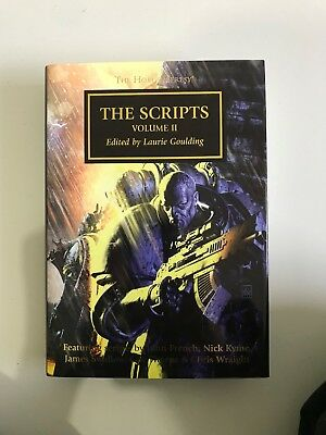 The Horus Heresy The Scripts Volume 2 edited by Laurie Goulding Black Library
