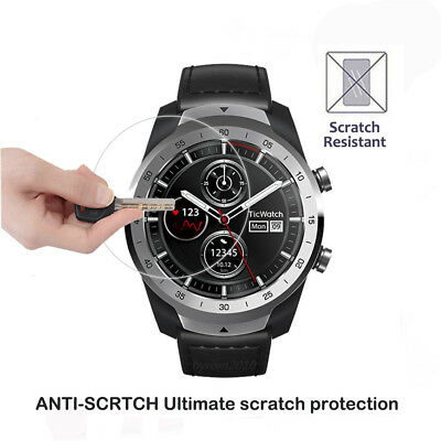 For Ticwatch Pro Anti-Scratch Tempered Glass Screen Protector Film Front Guard