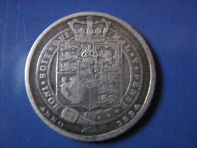 1824 George III 3rd Sixpence 6d - See Photos For Condition