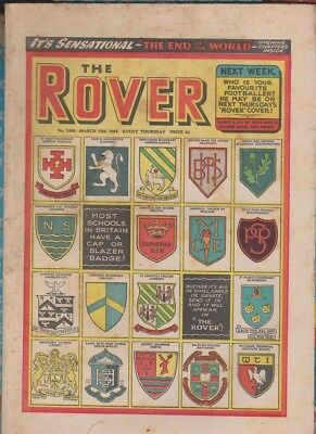Rover Comic 13th March 1954 No.1498
