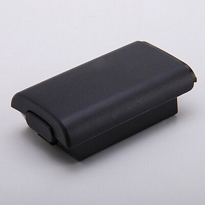 Black Battery Pack Cover Shell Shield Case Kit for Xbox 360 Wireless Control Gx