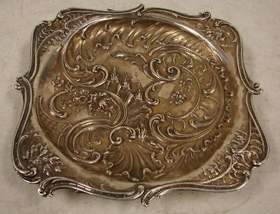 Vintage Solid Sterling Silver Footed Candy Dish Bowl Tray 382.1 grams (12.28oz)