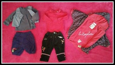 ❤️️🌟 ORCHESTRA DPAM 🌟 Lot 17 Pcs 🌟 Fille ⇢ Taille 12 mois 🌟❤️️