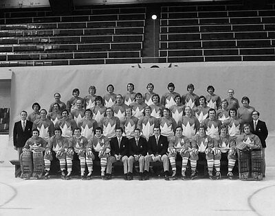 Team Canada Summit Series 1972 8x10 Photo