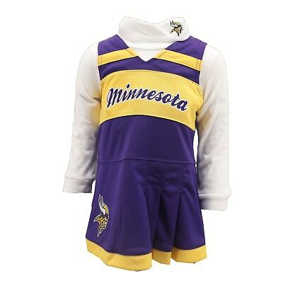 6cbbfa328 Minnesota Vikings NFL Infant & Toddler 2-Piece Cheerleader Outfit New with  Tags