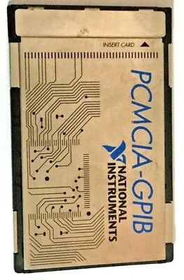 National Instruments NI PCMCIA-GPIB 182361D-01 GPIB Interface