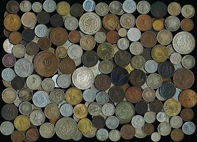 185 Old Mexico + Latin/south America Coins (Many Collectibles)Pics > No Rsrv