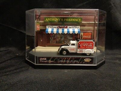 1938 Matchbox Dodge Airflow Coca Cola Delivery Truck Anthony's Pharmacy