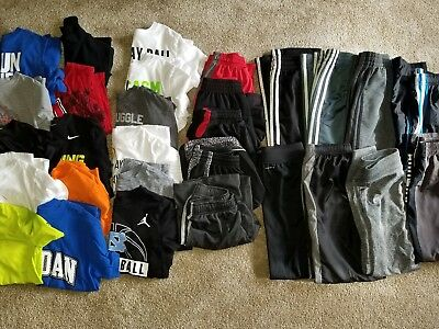 Boys Clothing Lot - Size Small - 29 Pcs - Nike Adidas Under Armour