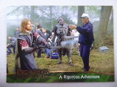 TOPPS Card : LOTR The Fellowship Of The Ring  #88 A RIGOROUS ADVENTURE