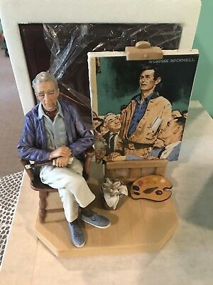 Norman Rockwell Figurine  The Spirit of America