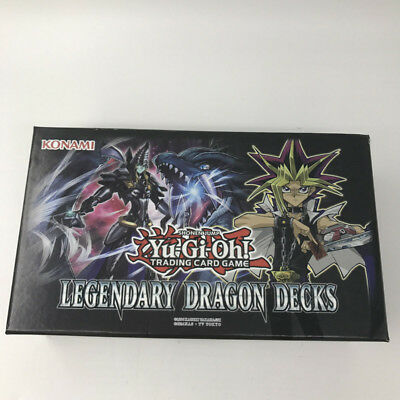 YUGIOH 153 Pcs Set Game Cards Legendary Dragon Decks English Version Yu Gi Oh