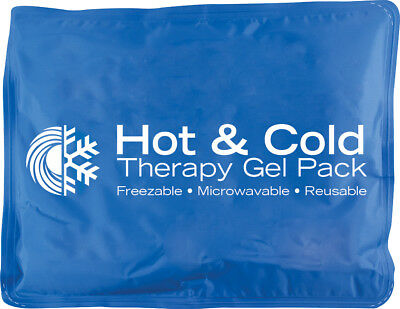 "Roscoe Hot & Cold Reusable Gel Pack 11"" x 14"", XL, Microwaveable Large Oversize"