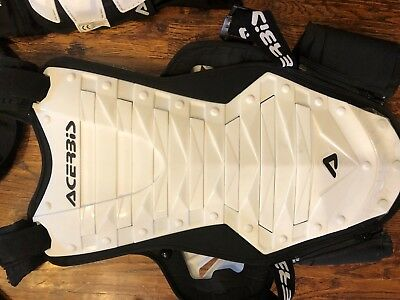 Acerbis Cosmo Roost Deflector with Jacket (XXL) White and Black