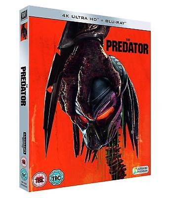 PREDATOR 4, THE (2018) Action, Alien, Sequel - NEW RgB 4K Ultra HD UHD + BLU-RAY