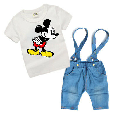 4Years Cartoon Boy's Outfit Sets Casual Boy Clothes Set 2Pcs Summer Costume Suit