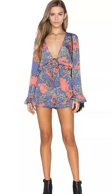 5a7a025f3a2 TULAROSA ROWLEY CUT out embroidered fitted romper in creme floral ...