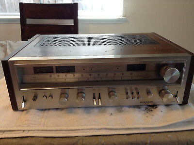 Vintage Stereo Receiver Pioneer SX-780 Partially Tested Working