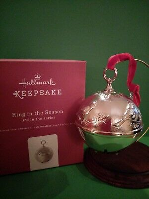 Hallmark Keepsake Christmas Ornament 2017 Ring In The Season Cardinal Bell
