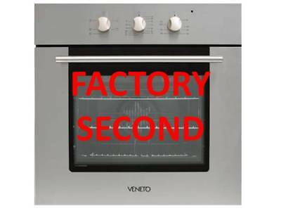 Vento by Technika 600mm Stainless Steel Oven VO60SS Factory Second TSV1832