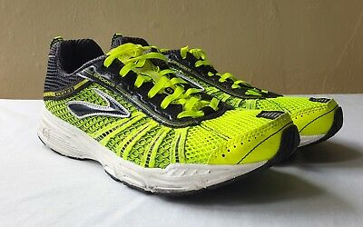 1a502b15ef8 Brooks Racer 57 Lime Black Athletic Shoes 1000181D724 size US 7.5 EUR 40.5