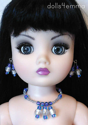"""OOAK 21"""" CISSY DOLL JEWELRY *OCEAN* may fit other large fashion dolls - NO DOLL"""