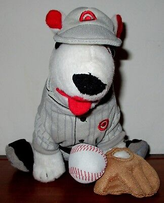 Target Dog Bullseye Vintage Baseball Player Dog 2014  Edition One 629 Of 1825