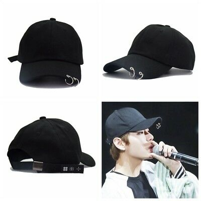 Boys Ring Baseball Cap KPOP BTS LIVE THE WINGS TOUR Hat Bangtan Adjustable Hot