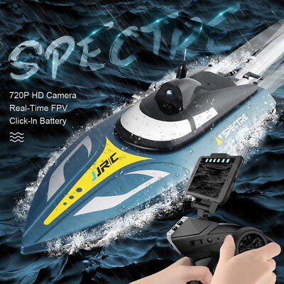 WIFI FPV JJRC S4 F1 RC Boat 25KM/h Speed Racing Remote Control Airship 2.4G Toy