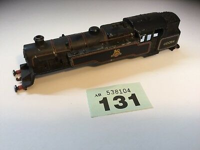 "Hornby Vintage  Metal Loco Body ""British Railways "" Black. Running No 80054"