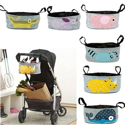 Animals Pattern Baby Stroller Organizer Bag Car Basket Hanging Storage Bag