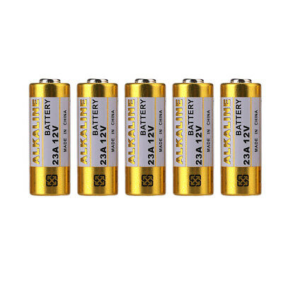 Alarm 12V 23A Battery Durable Garage Door 5pcs/Set Remote Control 6119