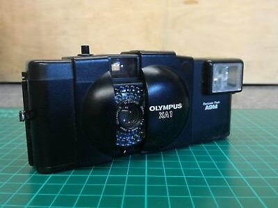 Olympus XA1 35mm Compact Film Camera with A9M Flash