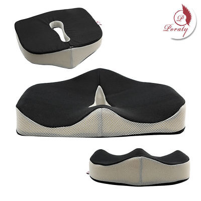 Truck Driver Seat Cushion Sciatica Driving Computer Chair Memory Foam Pad Office
