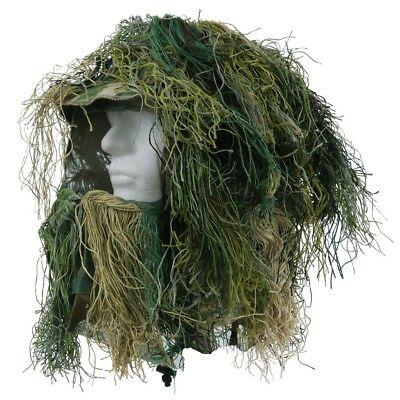 Gillie Suit Kopftarn Tarn 101 Airsoft Paintball Camouflage Camo Sniper Softair