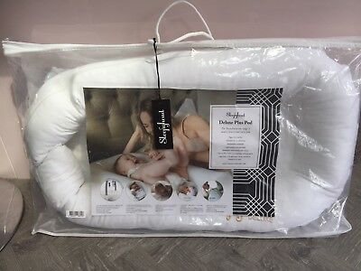 Sleepyhead Deluxe+ Plus baby sleeping pod pristine white In A+ Perfect Condition