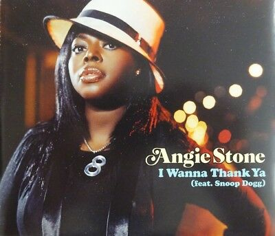 ANGIE STONE : I WANNA THANK YA ( feat. SNOOP DOGG ) - [ CD MAXI PROMO ]